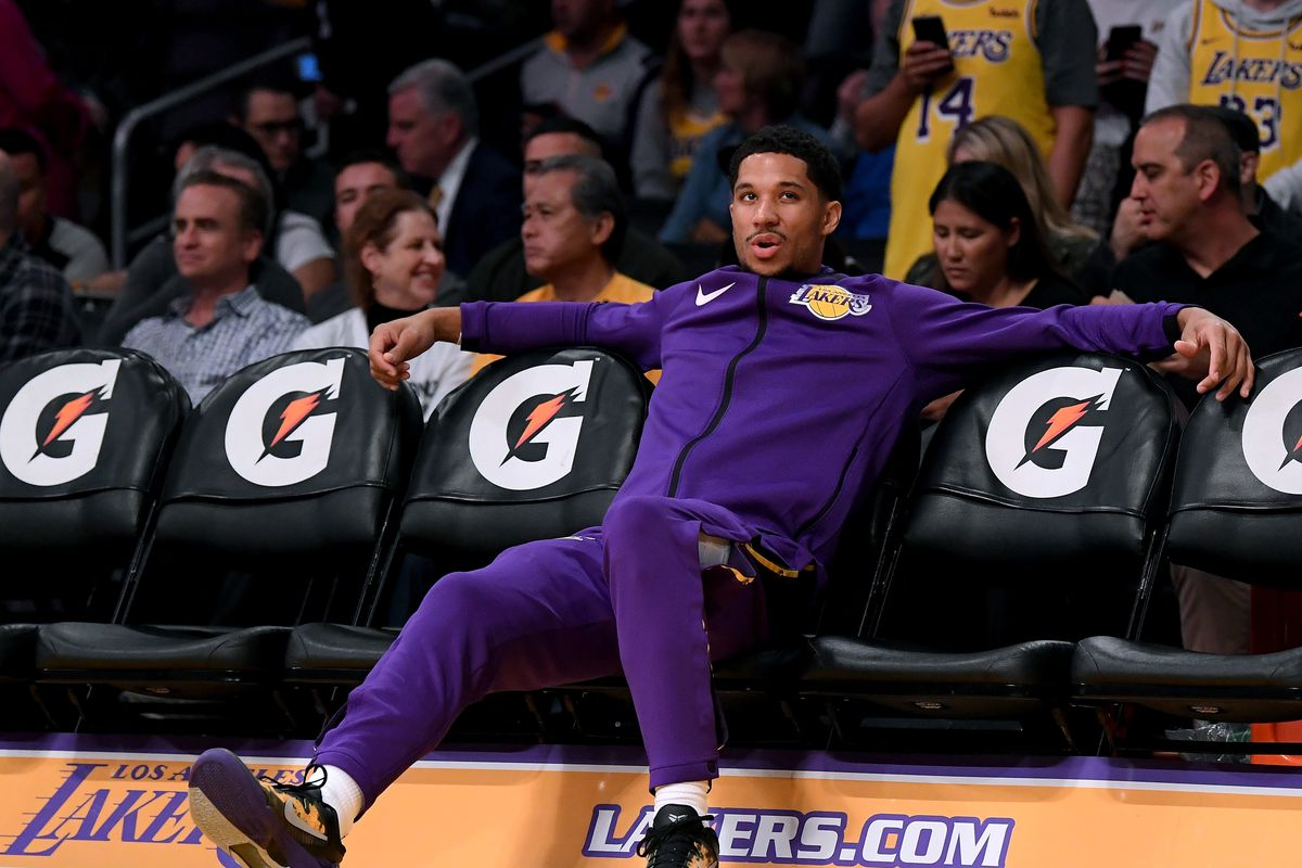 ba613d13938 NBA B-Sides  Can someone on the Lakers please give Josh Hart a high-five