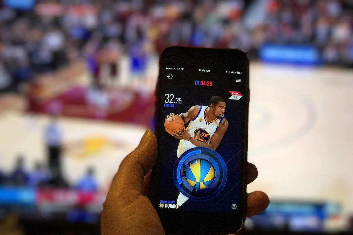 Recode's Ina Fried tries out the NBA's new InPlay fantasy app