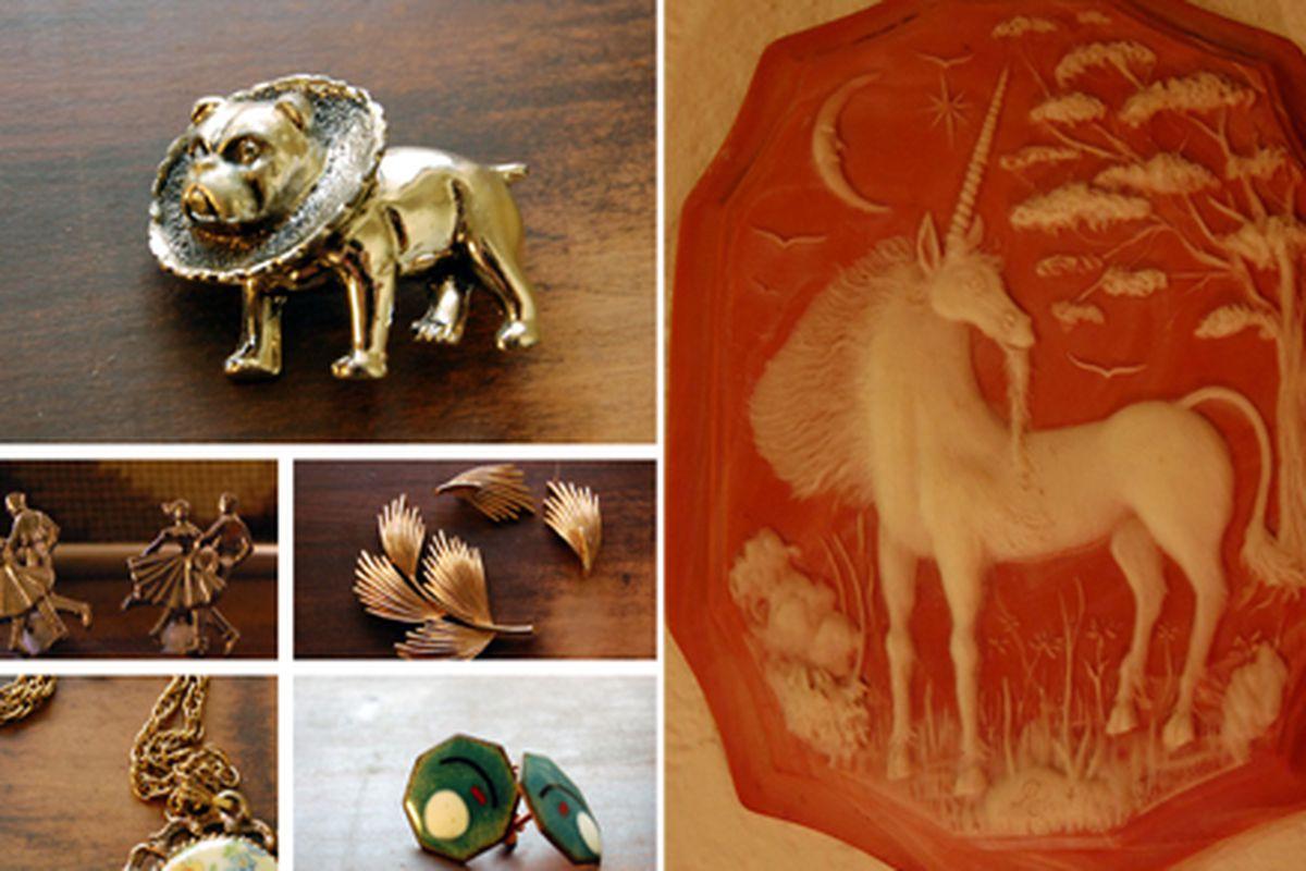 A few of Tin Box's precious goods.