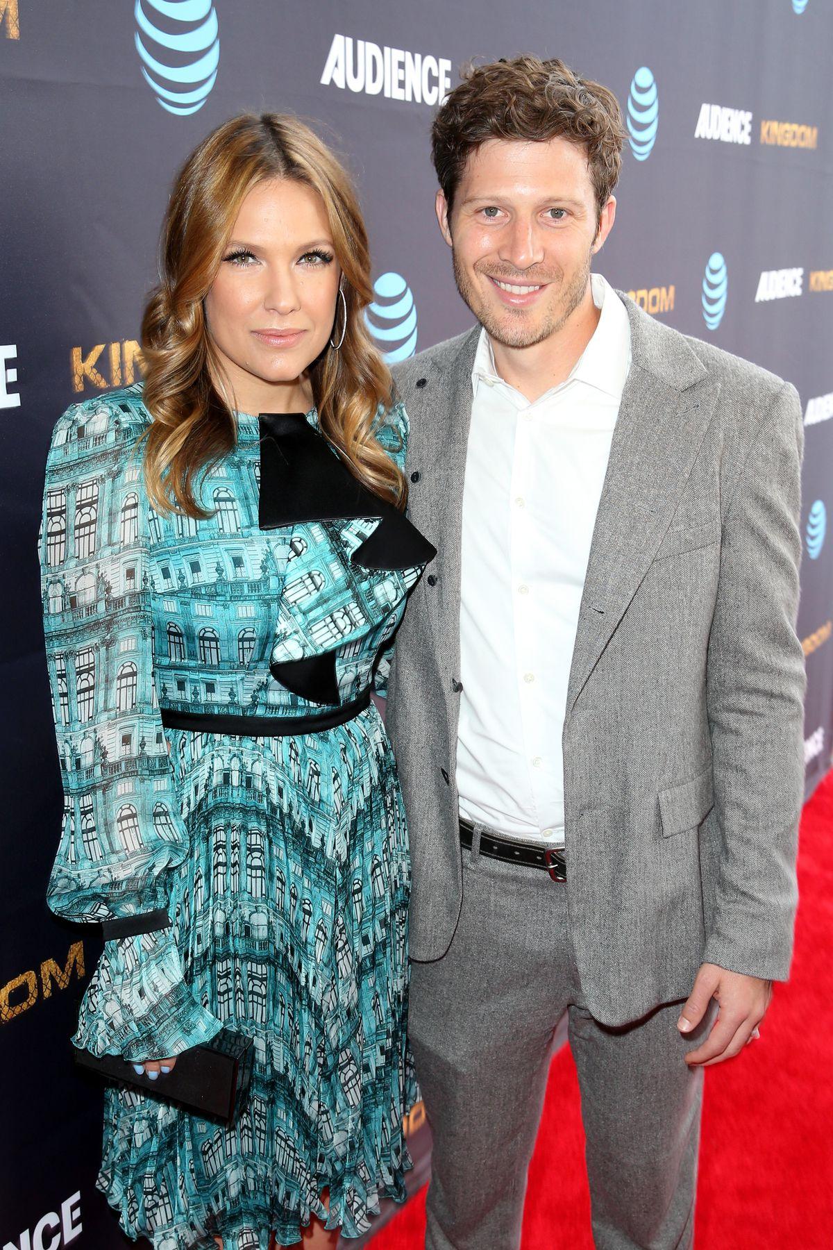 Zach Gilford and wife Kiele Sanchez in 2016.   Joe Scarnici/Getty Images