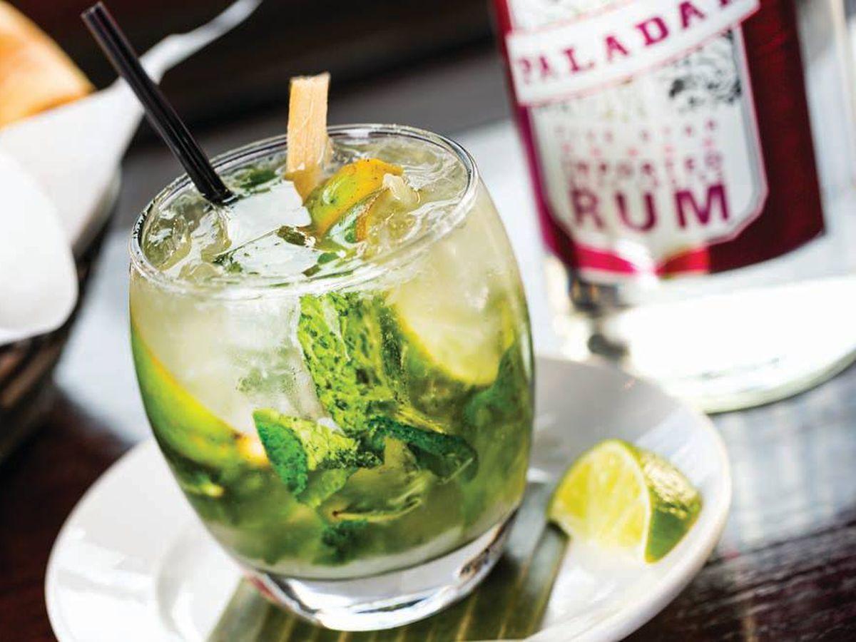 Mojitos at Paladar Latin Kitchen & Rum Bar (multiple locations).
