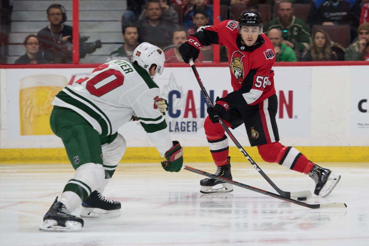 NHL: Minnesota Wild at Ottawa Senators