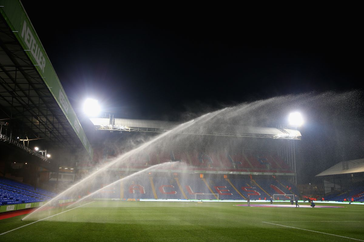 LOL water the pitch all you want we'll hoof it anyway!