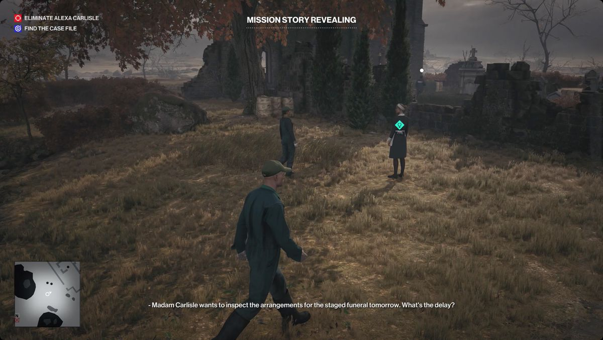 Hitman 3 Death in the Family guide: Her Final Resting Place Mission Story walkthrough