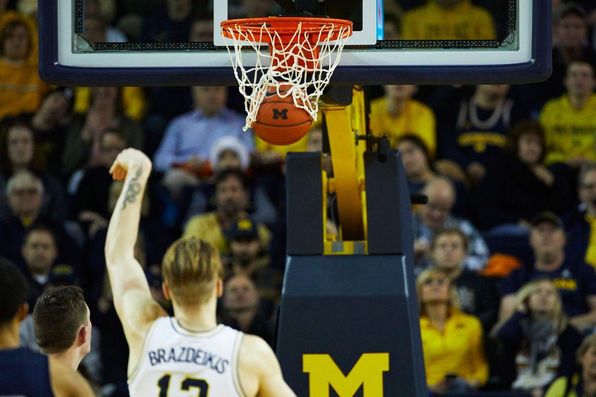 NCAA Basketball: Penn Direct at Michigan