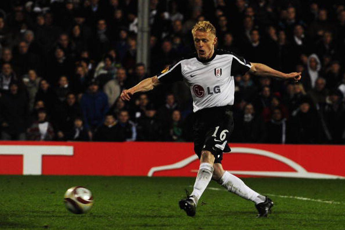 Damien Duff against Wolfsburg 4/1.  Photo via Getty Images
