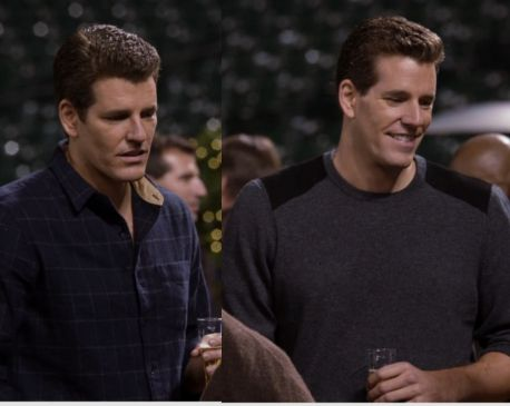A Winklevoss and a Winklevoss. Also not the same guy, but at least they're in the same ballpark.