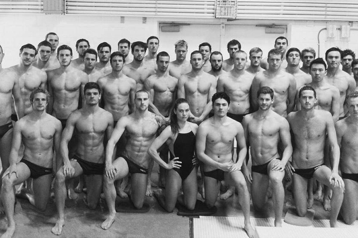 Image result for cal swim team