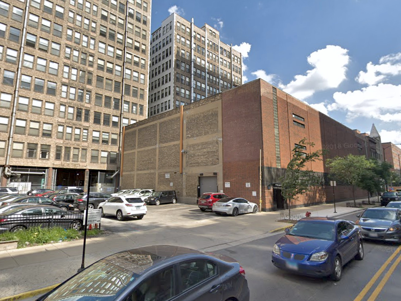 The project would transform the 700 block of South Clark Street.