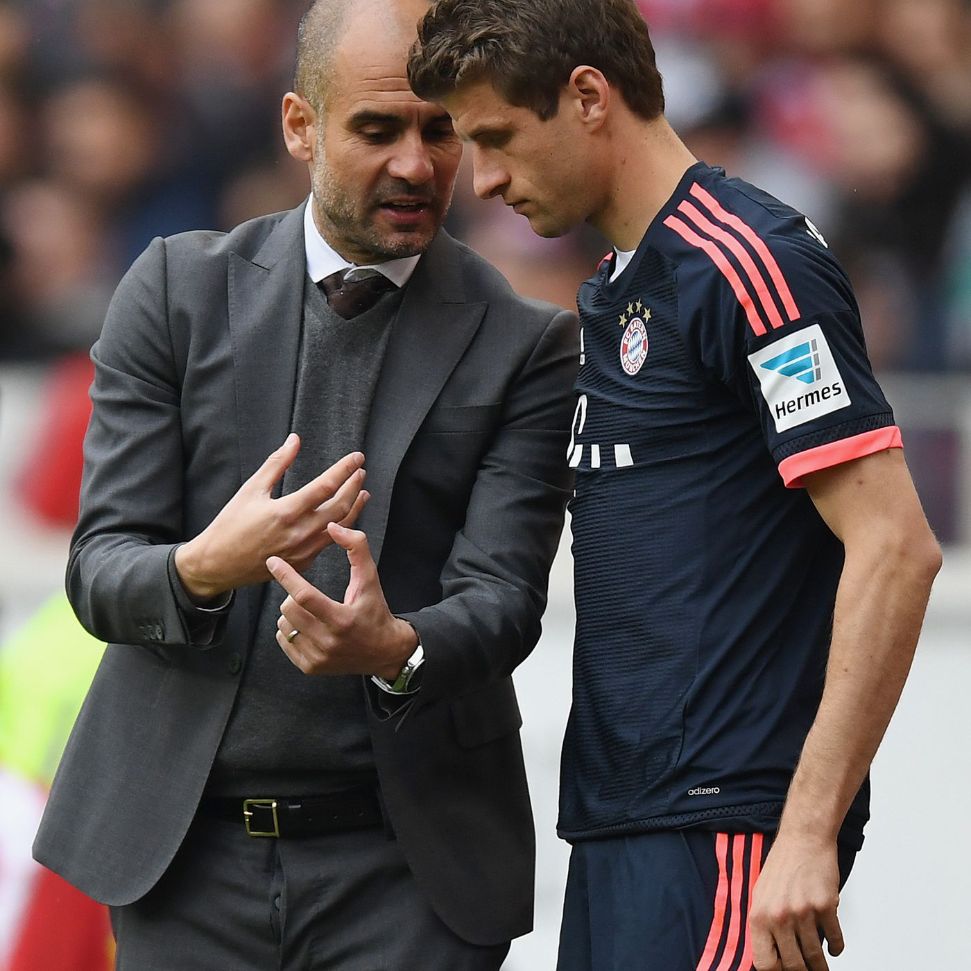 Bayern Munich's Thomas Müller reminisces about Pep Guardiola