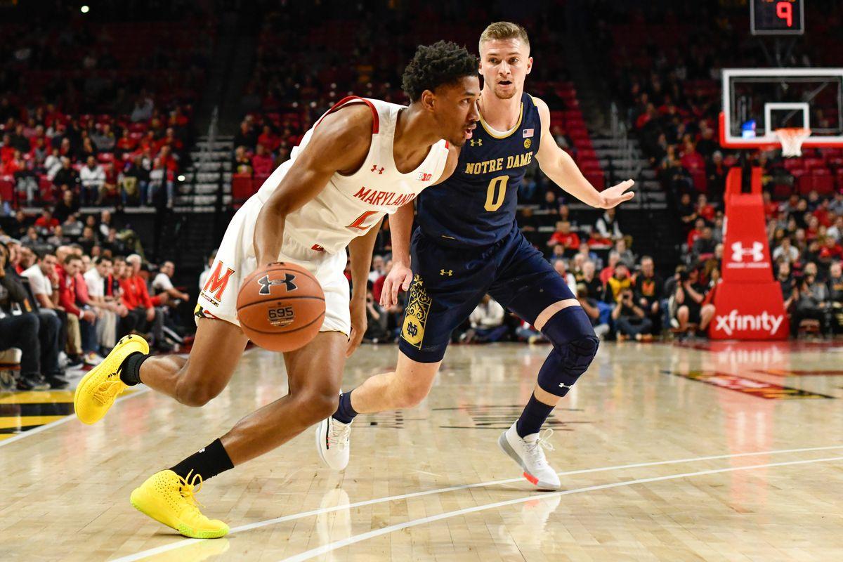 Aaron Wiggins, Maryland men's basketball, Notre Dame