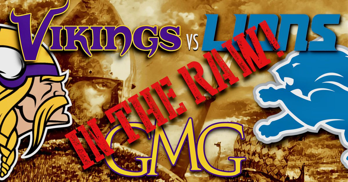 Vikings vs Lions 2 - GMG In The Raw!