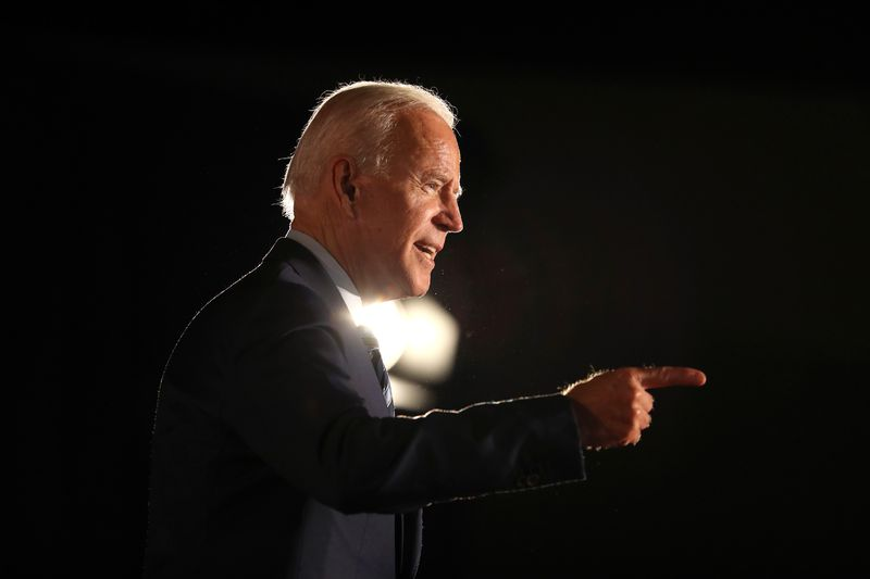 Democratic presidential candidate former U.S. Vice President Joe Biden speaks during the AARP and The Des Moines Register Iowa Presidential Candidate Forum at Drake University on July 15, 2019 in Des Moines, Iowa.