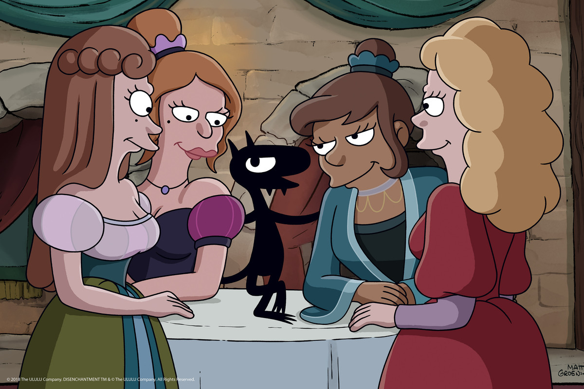 Animated Sexy Stories netflix's disenchantment suggests the messy future of