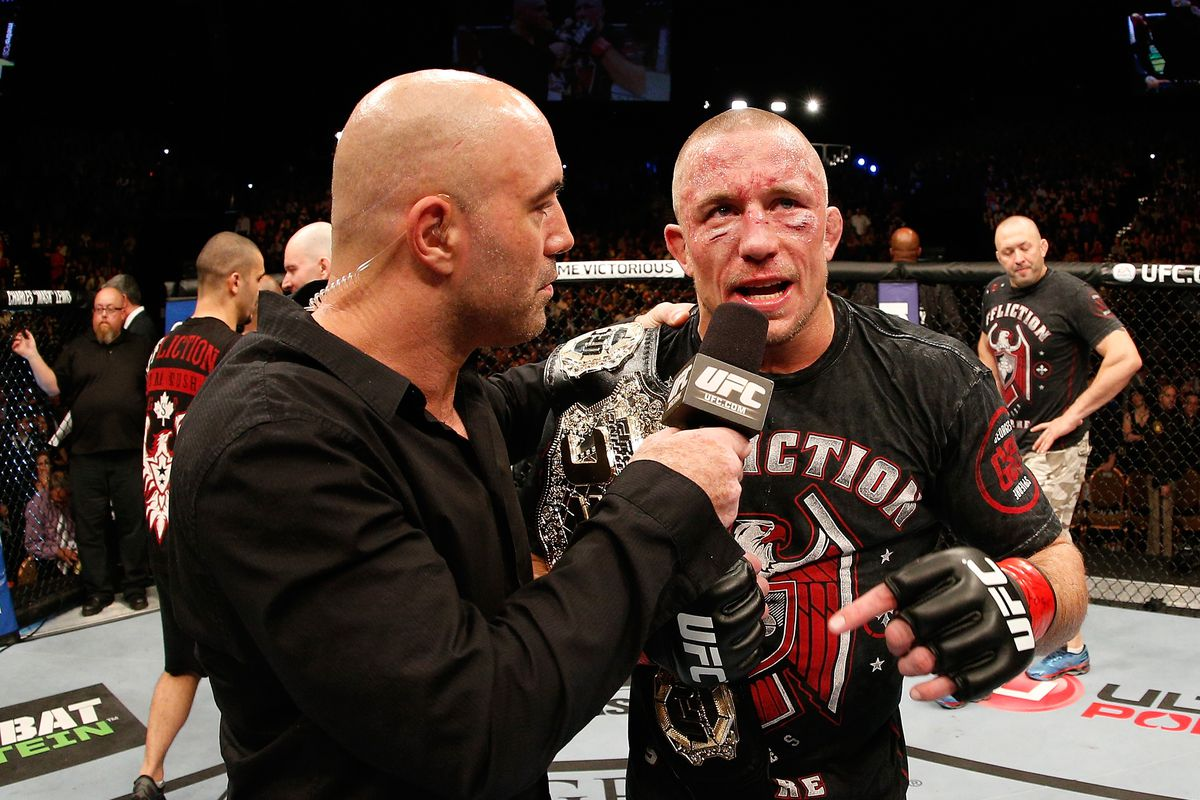 Georges St-Pierre opened up about taking a break from MMA after UFC 167