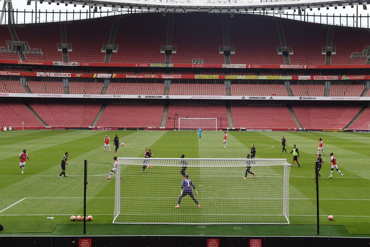 Arsenal v Charlton Athletic: Friendly