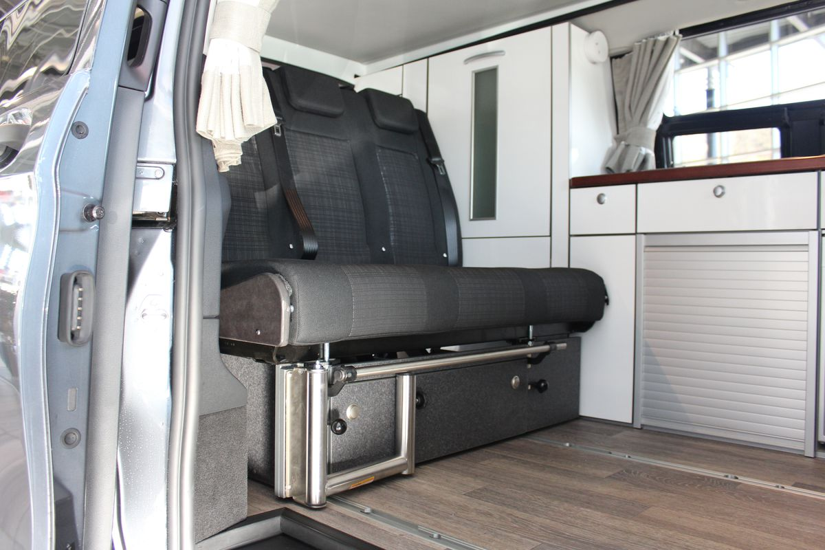 Pop-top camper van sleeps four and fits in your garage - Curbed