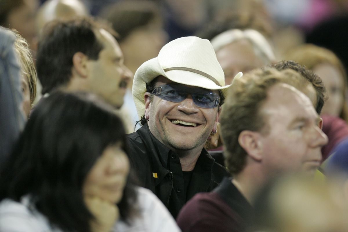 Bono ?????? at the Toronto Bue Jays vs the Seattle Mariners Thursday night at the Rogers Centre in T
