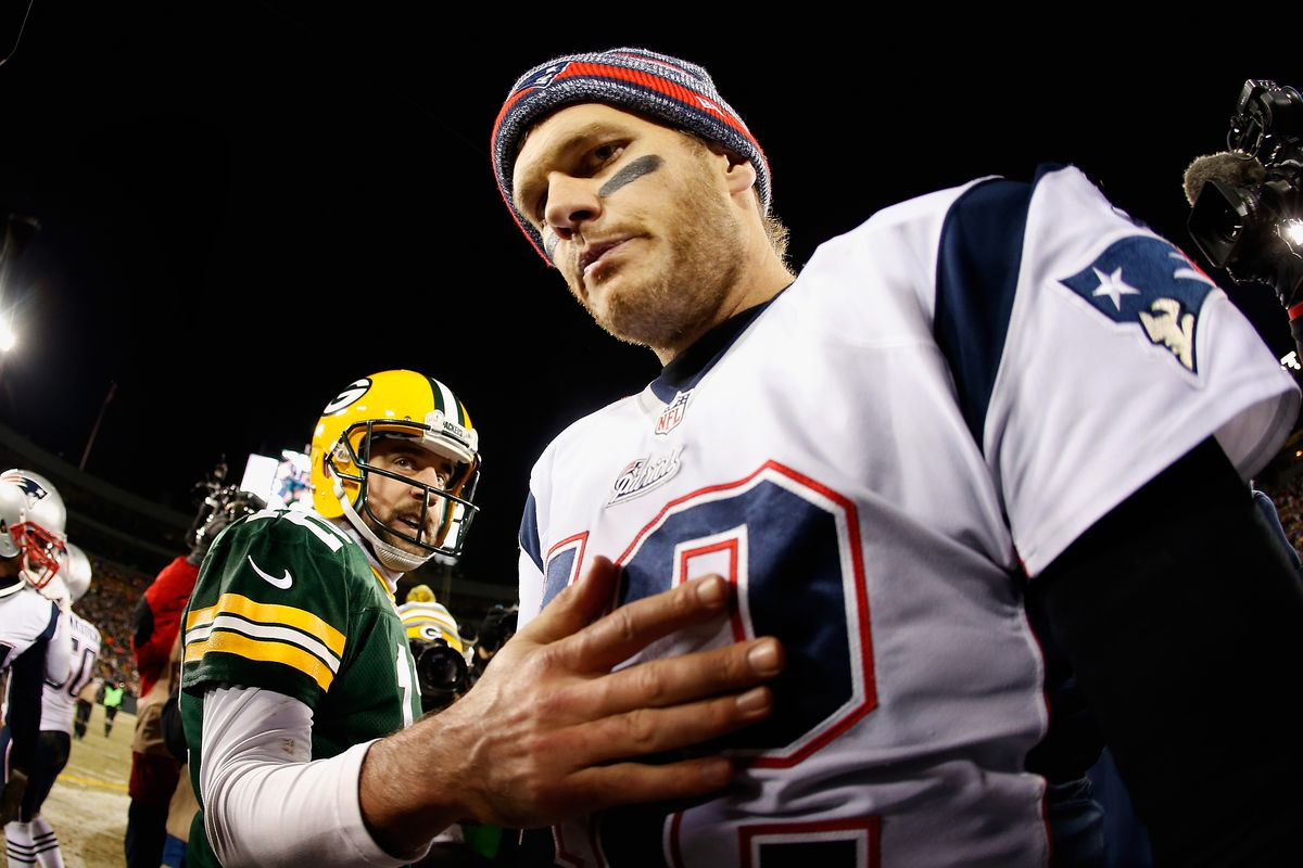 sneakers for cheap fece8 9169a 7 times we missed out on a Tom Brady vs. Aaron Rodgers Super ...