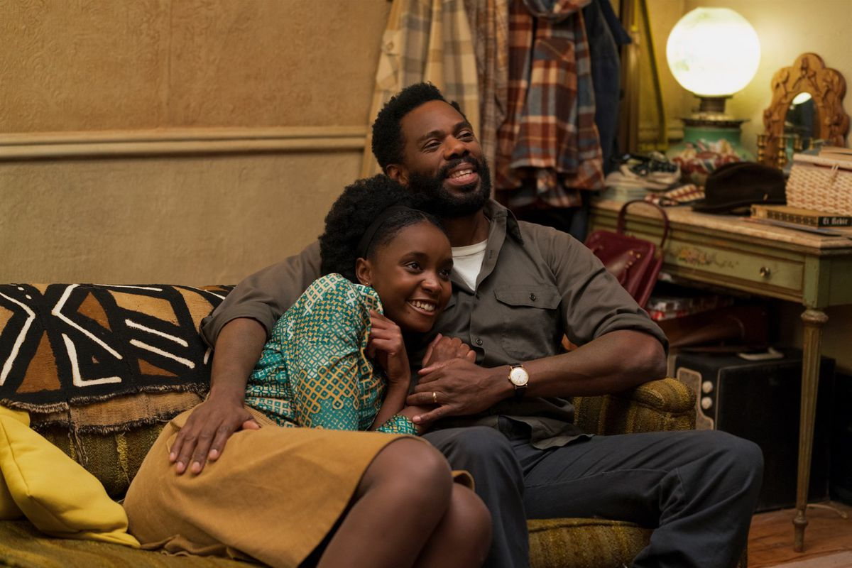 Kiki Layne and Colman Domingo in If Beale Street Could Talk