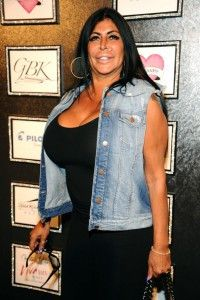 """""""Big Ang"""" Angela Raiola, photographed in 2013.  Photo by Gary Gershoff/Getty Images"""