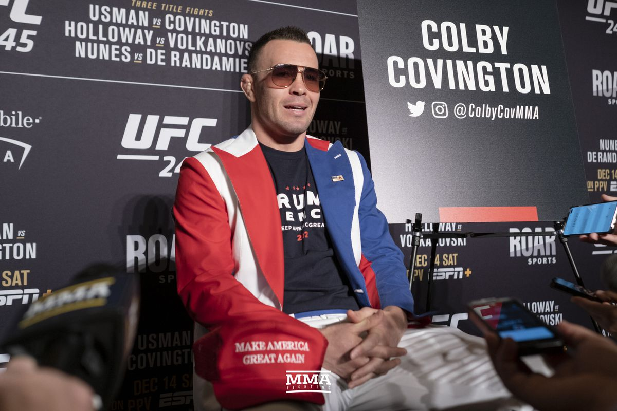 Colby Covington Tyron Woodley And I Agreed To Fight Now Kamaru Usman Takes Priority Mma Fighting