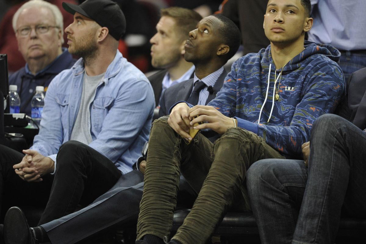 Sixers Met With Ben Simmons And Agent Rich Paul Thursday