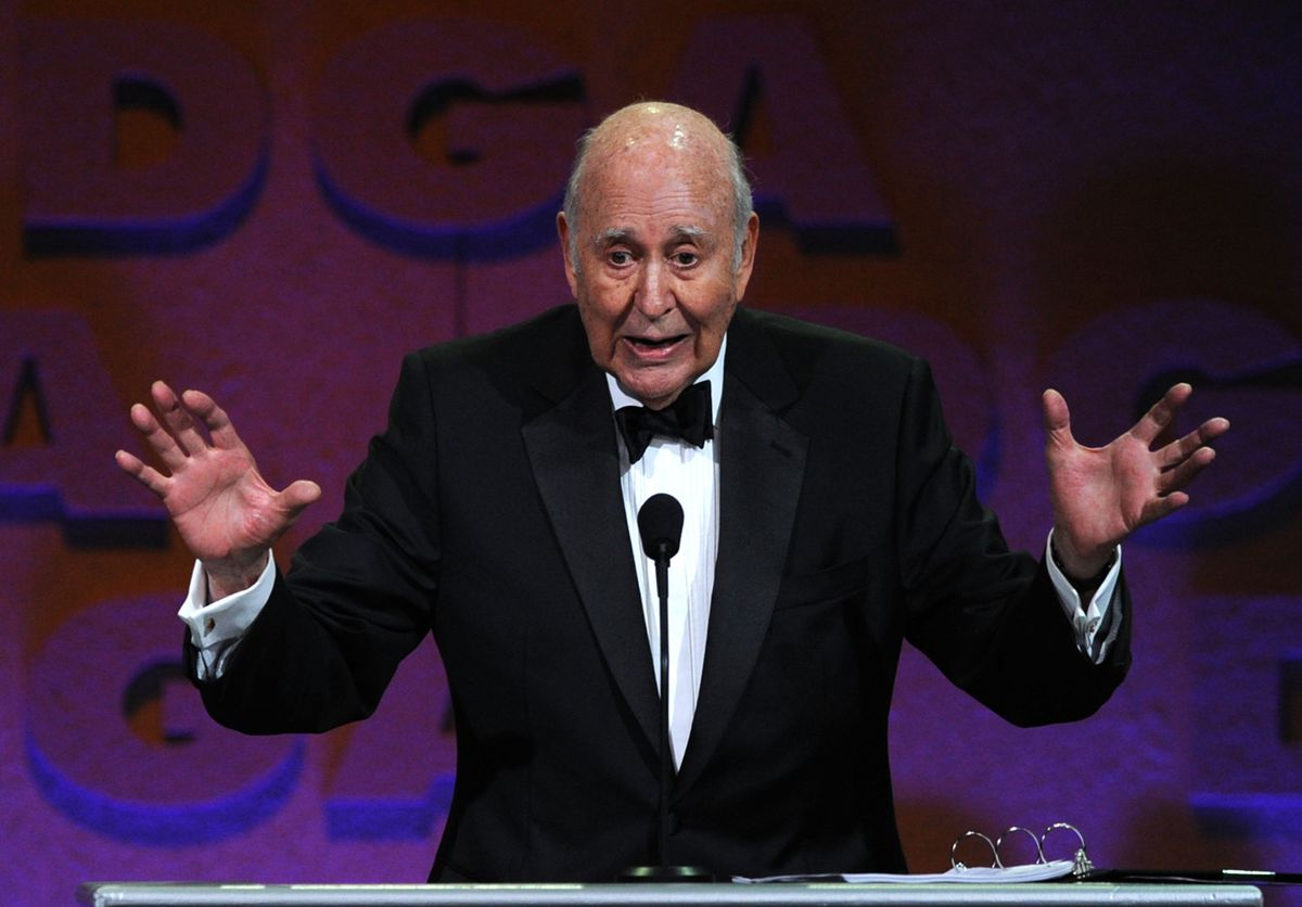 Master of Ceremonies Carl Reiner onstage at the 63rd Annual Directors Guild Of America Awards held at the Grand Ballroom at Hollywood & Highland on January 29, 2011 in Hollywood, California.
