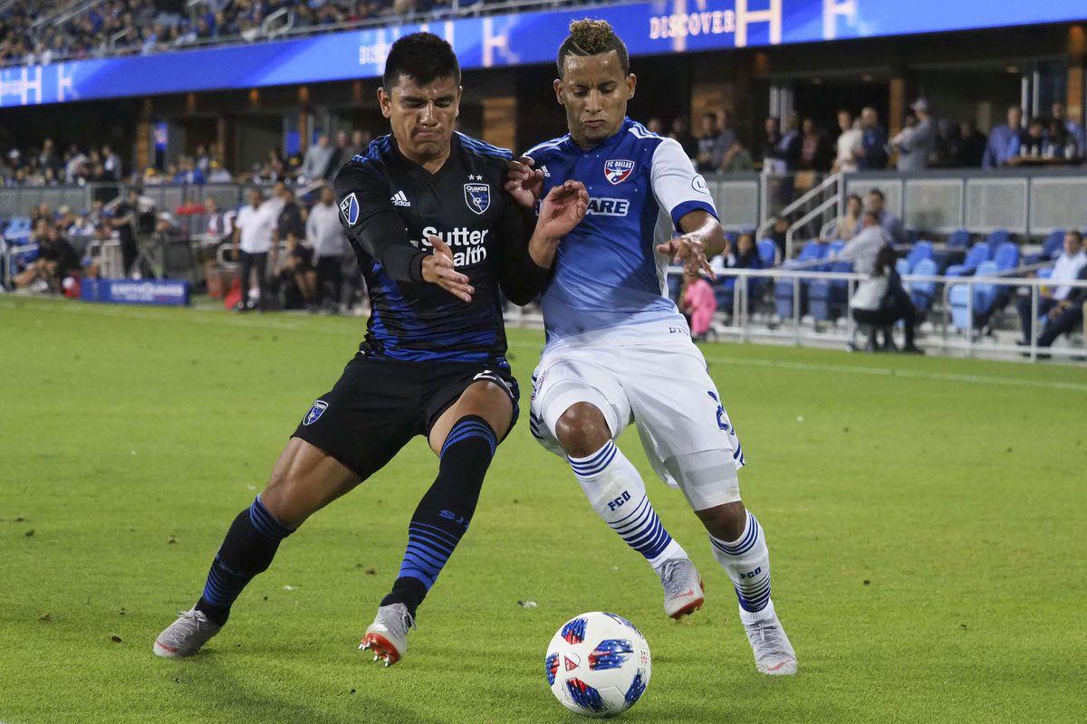MLS: FC Dallas at San Jose Earthquakes