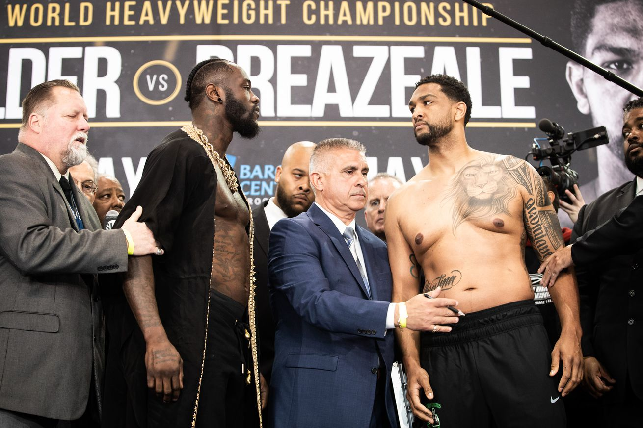 weigh in 0023.0 - Roundup (May 18, 2019): Wilder-Breazeale, WBSS, JCC Jr, more