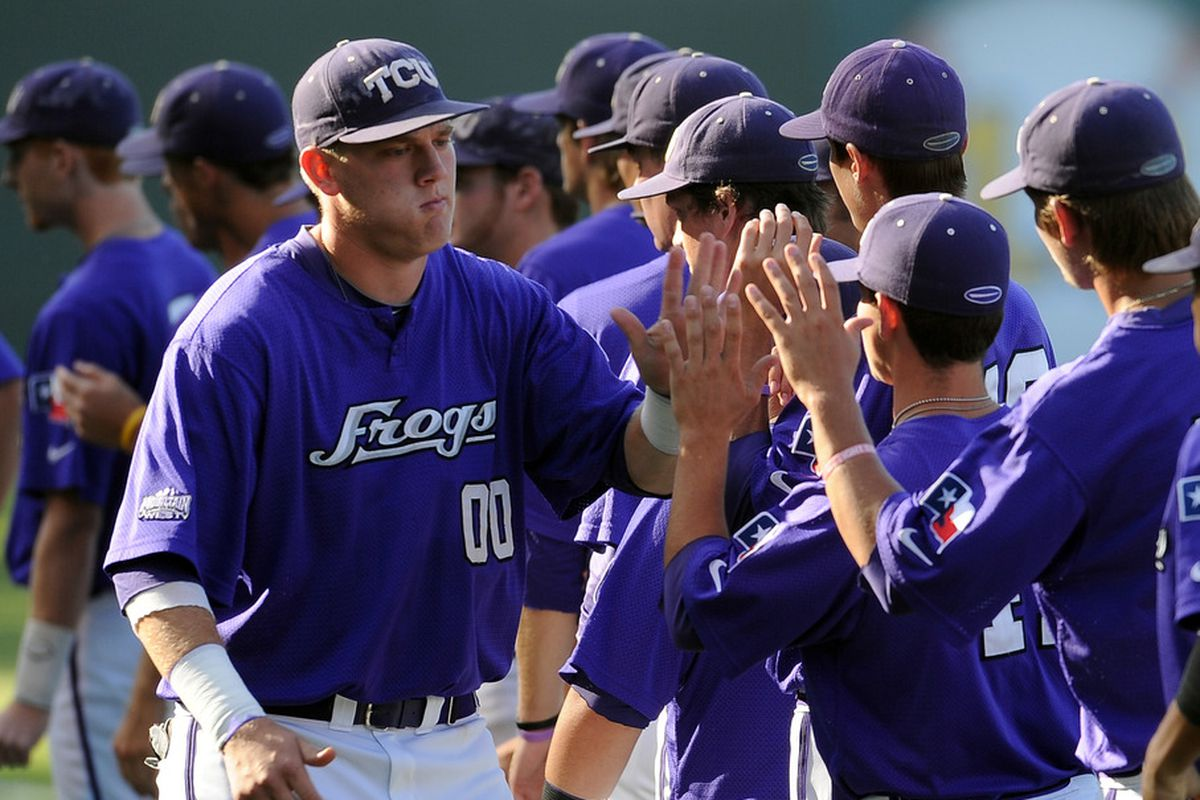 A lot of the Frogs potential hinges on junior first baseman Kevin Cron
