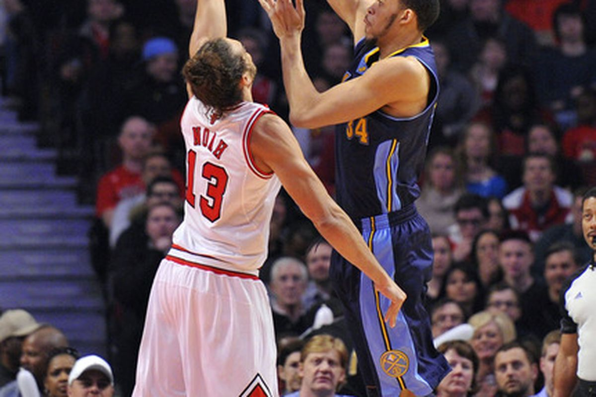 The only player I'm aware of that throws DOWN at the hoop. JaVale McGee!