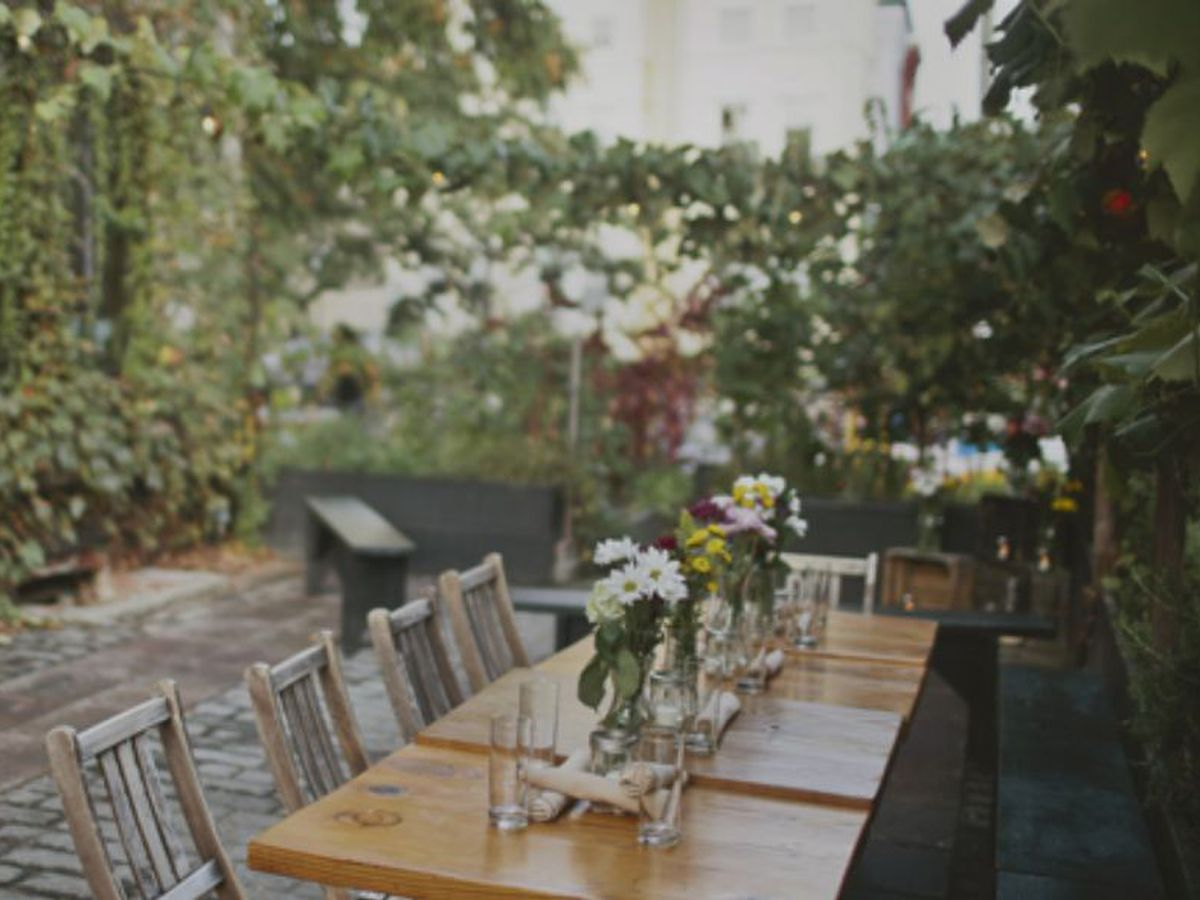 Check out these new outdoor dining spots around town