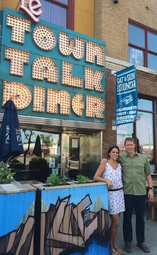Le Town Talk Owners. Photo by Alex Lodner