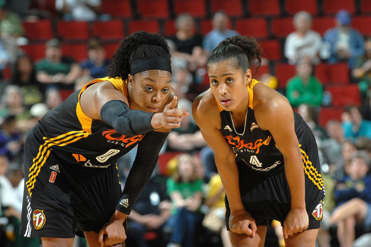 Odyssey Sims and Skylar Diggins are the best young backcourt in the WNBA right now. They could be the best backcourt overall before too long.