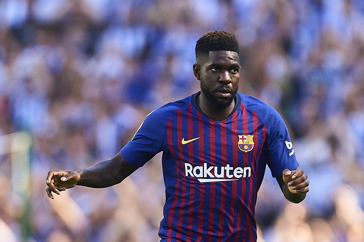 purchase cheap 878ee c0b09 FC Barcelona News: 1 October 2018; Latest on Samuel Umtiti ...