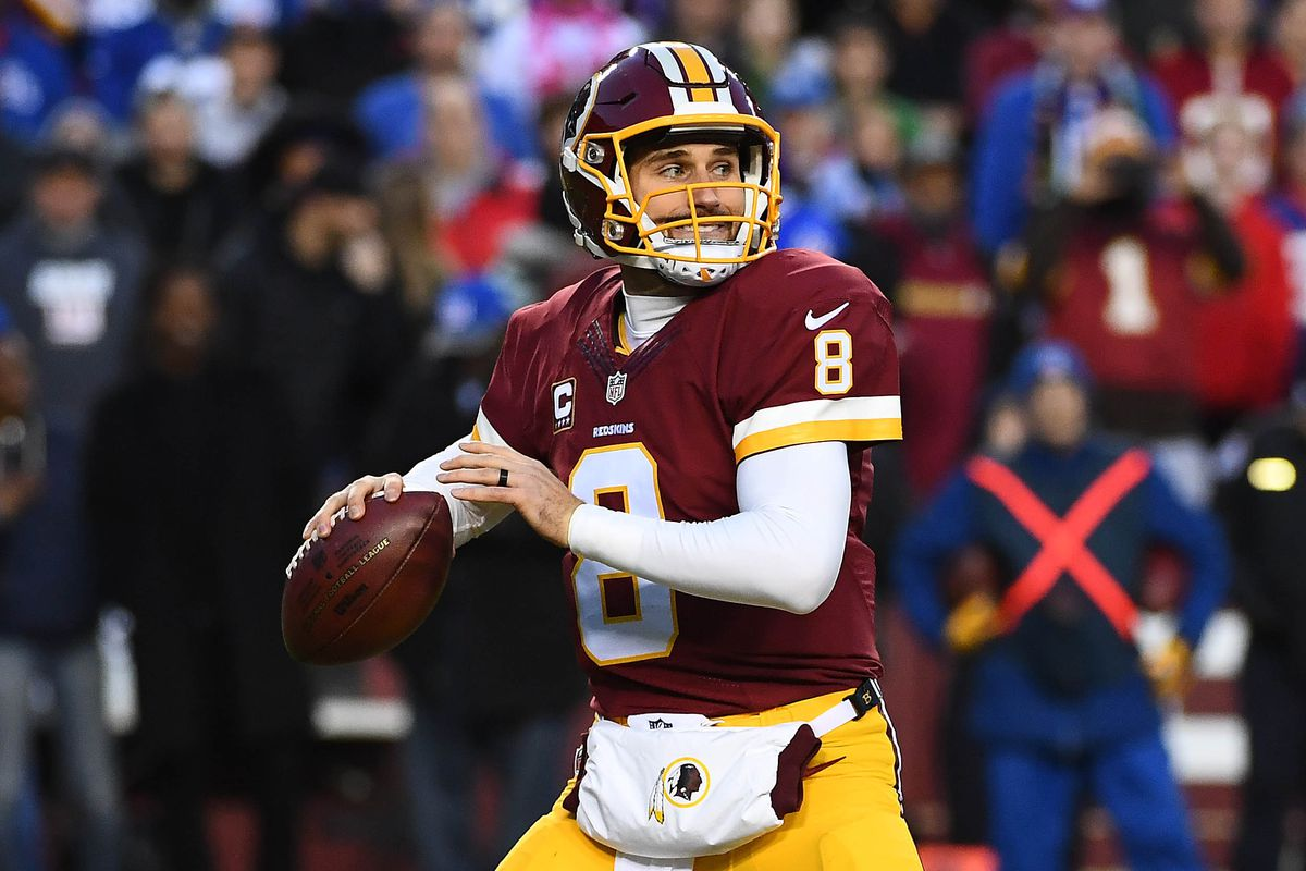 0781de4f3 Kirk Cousins got the franchise tag again from Washington and won't be traded