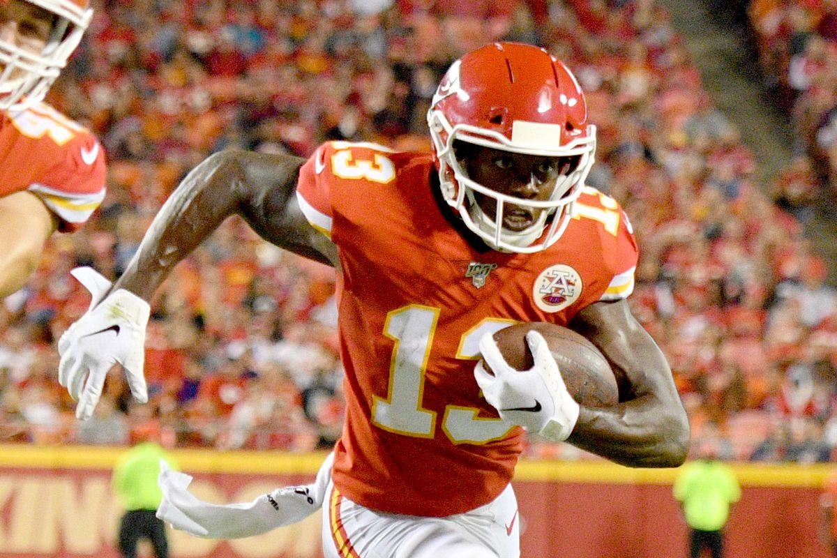 sale retailer bbe08 9af8c Kansas City Chiefs release wide receiver Byron Pringle ...