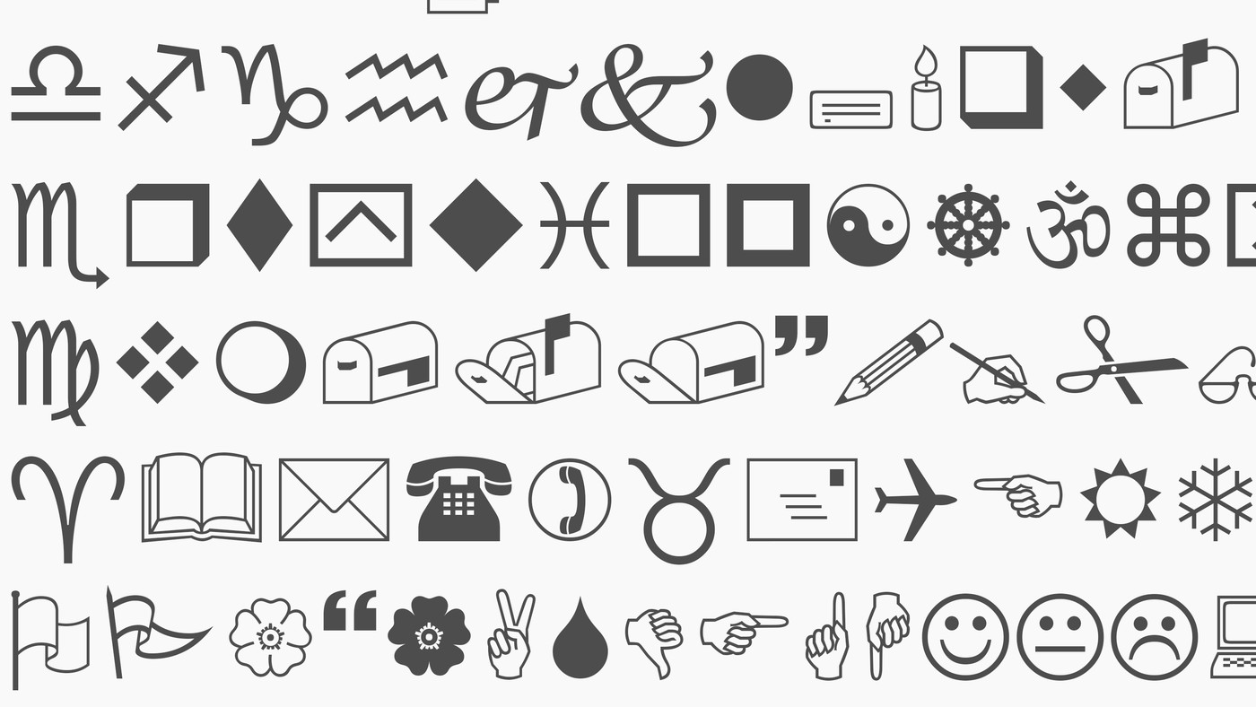Why the Wingdings font exists - Vox