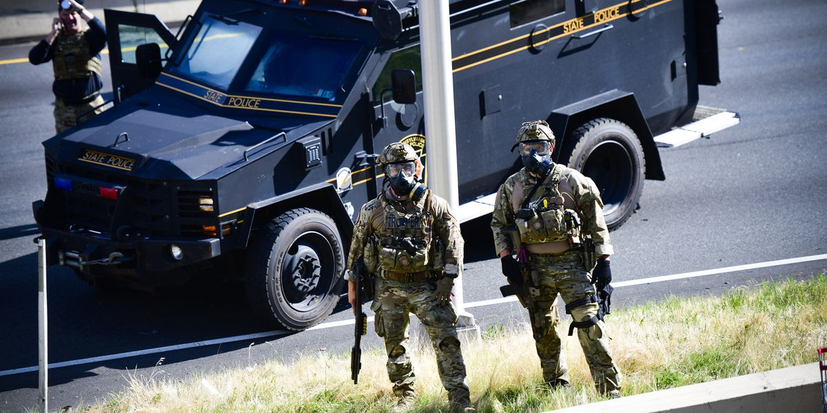 Some senators want to stop police from getting military-grade equipment or weapons