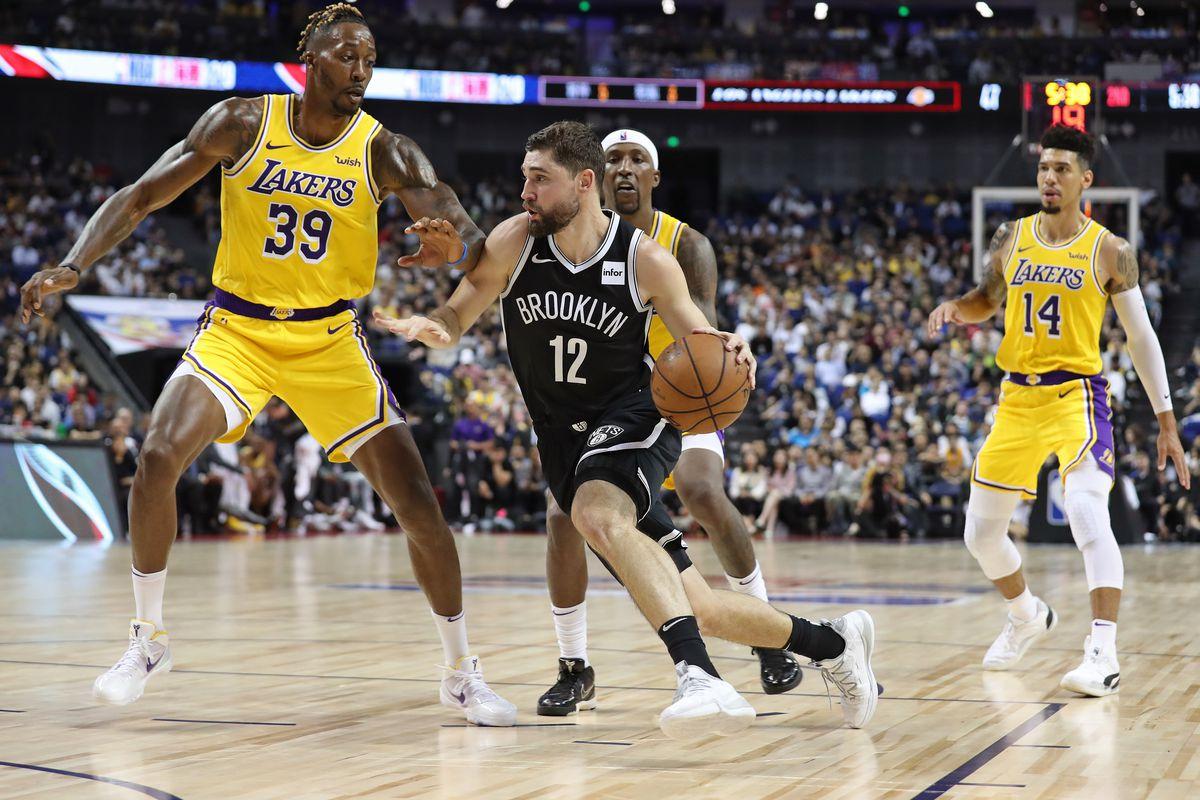 """Kết quả hình ảnh cho Los Angeles Lakers vs Brooklyn Nets"""""""