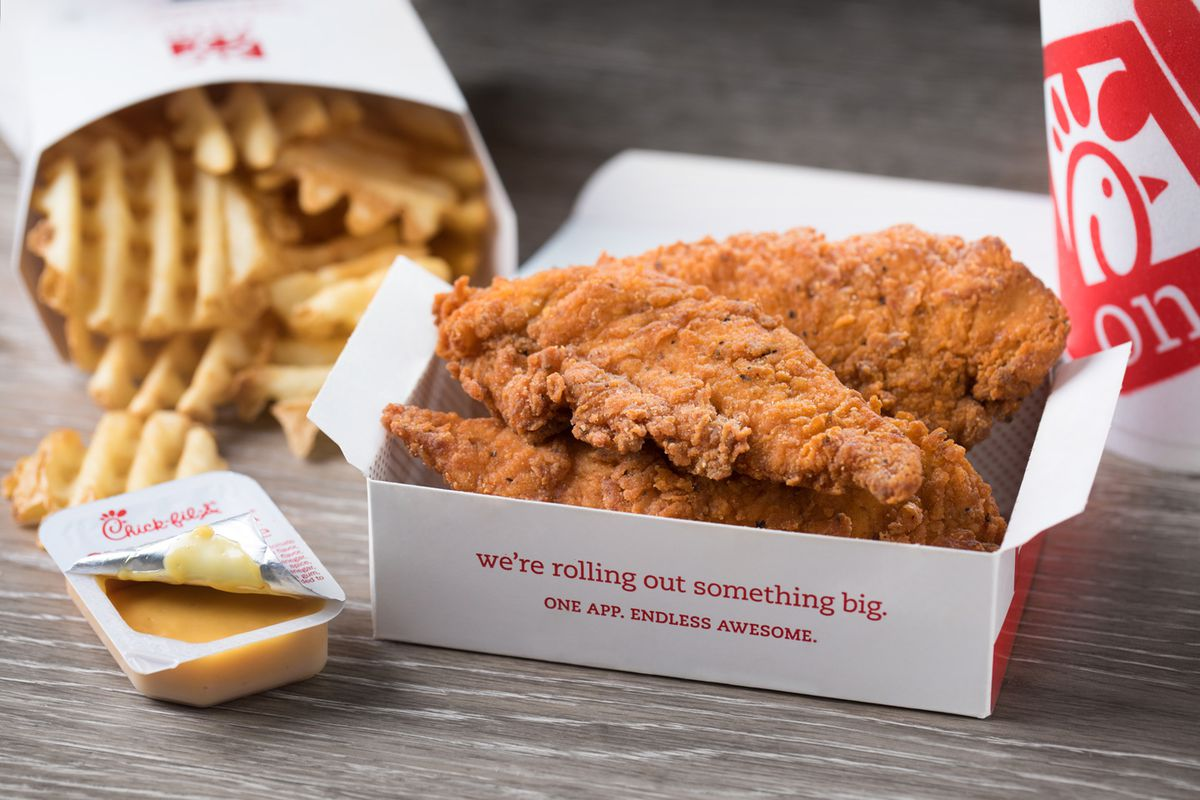 06f8dc6aa Chick-fil-A Is Testing Devilishly Spicy Chicken Strips - Eater