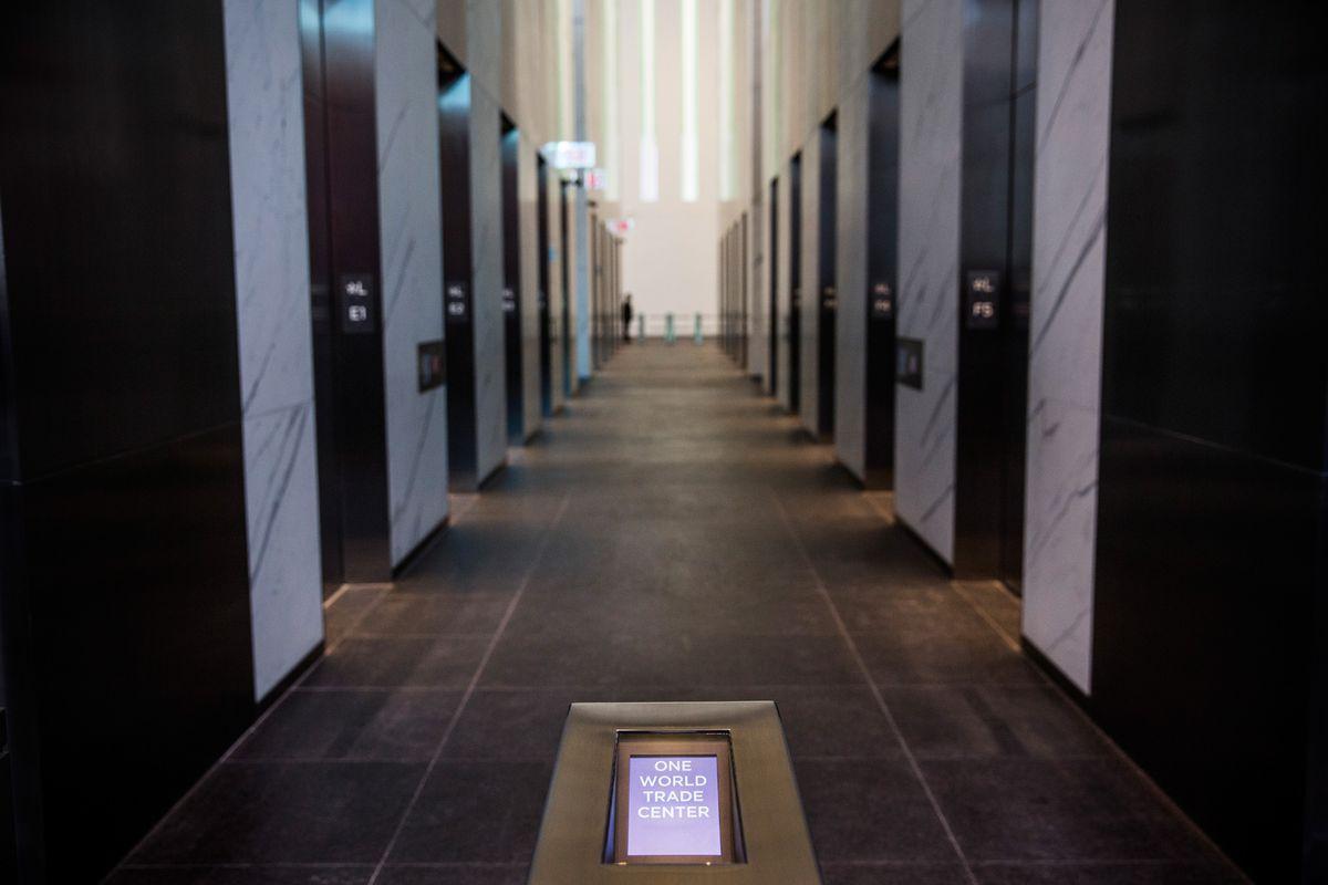 Condé Nast's new home at 1 World Trade Center.