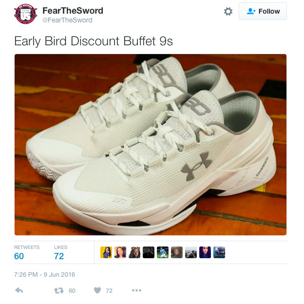 The Golden State Warriors guard has fired back at his critics by wearing  the shoes — which he has customized with the phrase