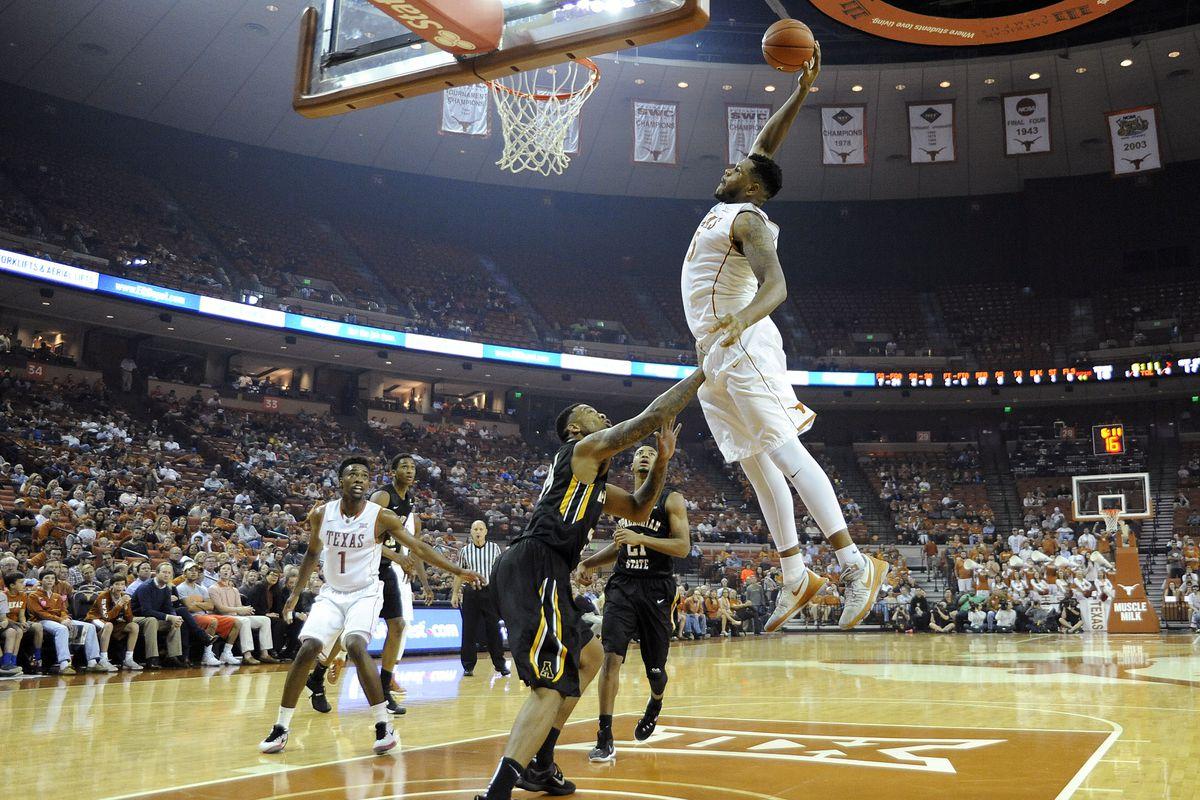 NCAA Basketball: Appalachian State at Texas