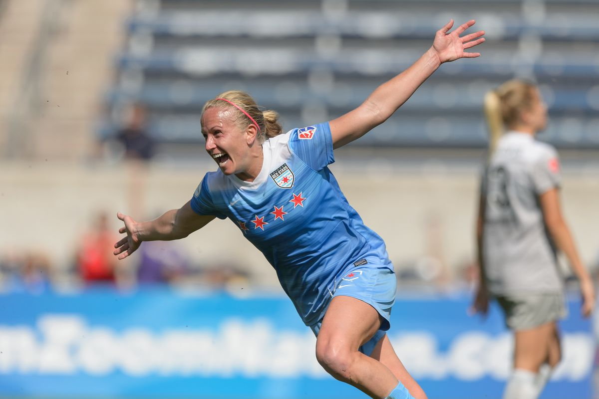 Veteran Red Stars player Alyssa Mautz has seen the growth of the franchise firsthand.