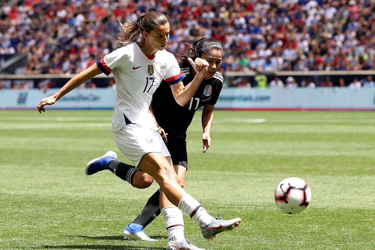 new arrival fff85 c0175 USWNT ends World Cup Send-Off Series with 3-0 win over ...