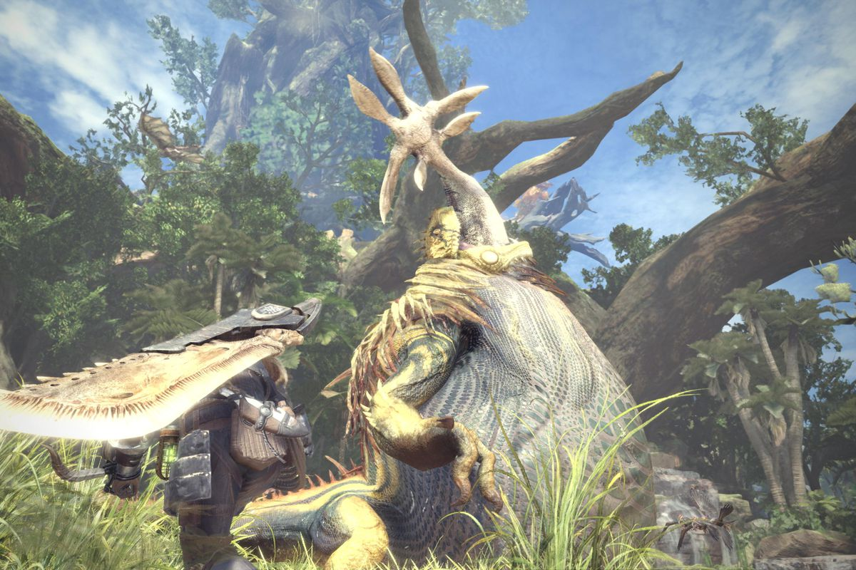 Monster Hunter World Is Getting A High Resolution Texture Pack