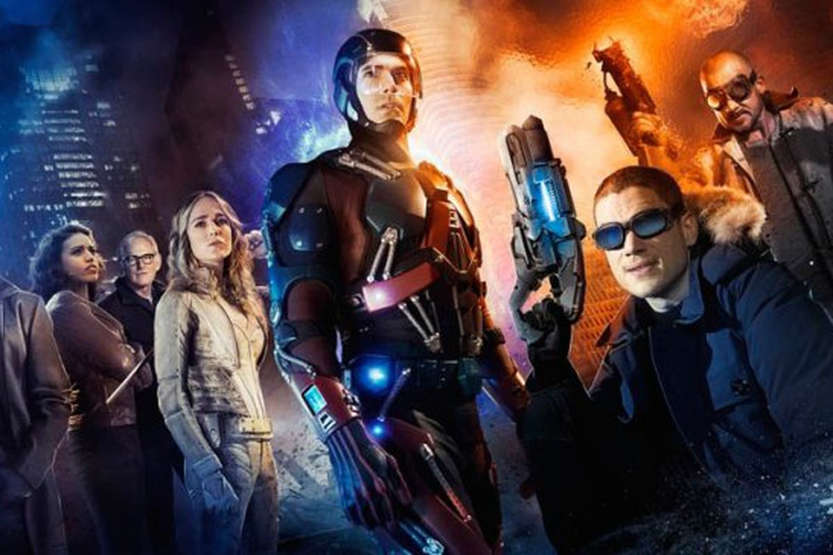DC's Legends of Tomorrow.