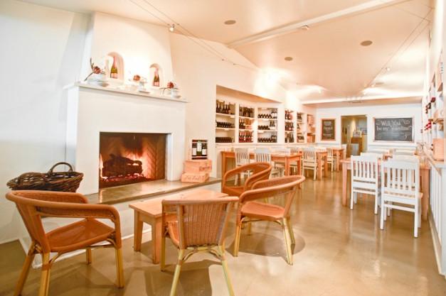 Dining room at Wine Vault & Bistro